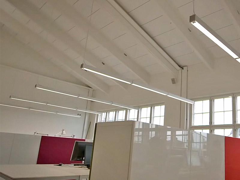 Inspiración de iluminación de oficina