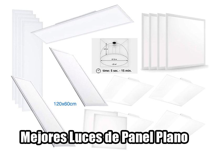mejores luces led de panel plano